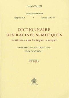 Dictionnaire des racines semitiques ou attestees dans les langues semitiques, fasc. 3. F Bron Author