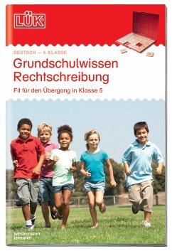 LÜK. Grundschulwissen Rechtschreibung - Müller, Heiner