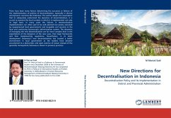 New Directions for Decentralisation in Indonesia