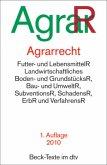 Agrarrecht AgrarR