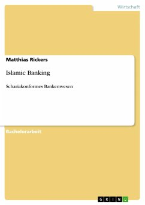 Islamic Banking - Rickers, Matthias