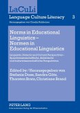 Norms in Educational Linguistics - Normen in Educational Linguistics