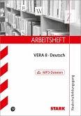 Arbeitsheft Realschule - Deutsch VERA 8 mit MP3-CD
