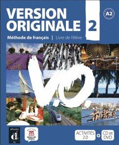 Version originale A2 / Kursbuch mit Audio-CD + DVD
