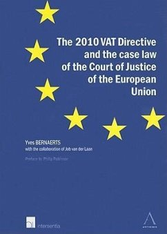 The 2010 VAT Directive and the Case Law of the Court of Justice of the European Union - Bernaerts, Yves