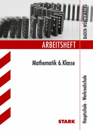 6 klasse hauptschule werkrealschule baden w rttemberg arbeitsheft mathematik schulb cher. Black Bedroom Furniture Sets. Home Design Ideas