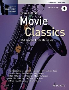 Movie Classics, für Tenorsaxophon, m. Audio-CD, m. Klaviersatz