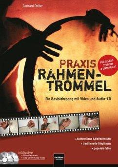 Praxis Rahmentrommel, m. DVD u. Audio-CD - Reiter, Gerhard