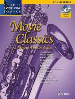 Movie Classics, für Altsaxophon, m. Audio-CD, m. Klaviersatz