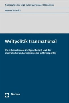Weltpolitik transnational - Schmitz, Manuel
