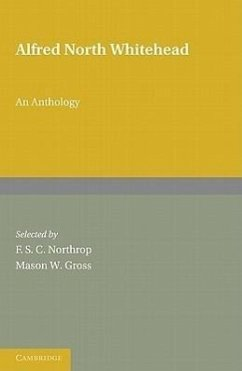 Alfred North Whitehead: An Anthology 2 Part Set