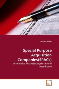 Special Purpose Acquisition Companies(SPACs)
