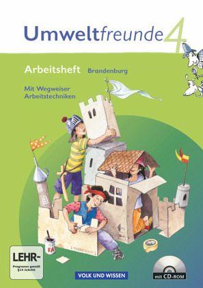 Umweltfreunde 4. Schuljahr. Arbeitsheft mit CD-ROM und Einleger Brandenburg - Ehrich, Silvia; Koch, Inge; Köller, Christine; Leimbach, Rolf; Schenk, Gerhild