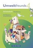 Umweltfreunde 4. Schuljahr. Arbeitsheft Brandenburg