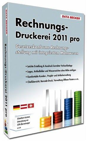 Rechnungsdruckerei 2011 pro