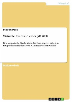 Virtuelle Events in einer 3D Welt - Post, Steven
