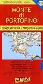 EDM Wanderkarte Monte di Portofino