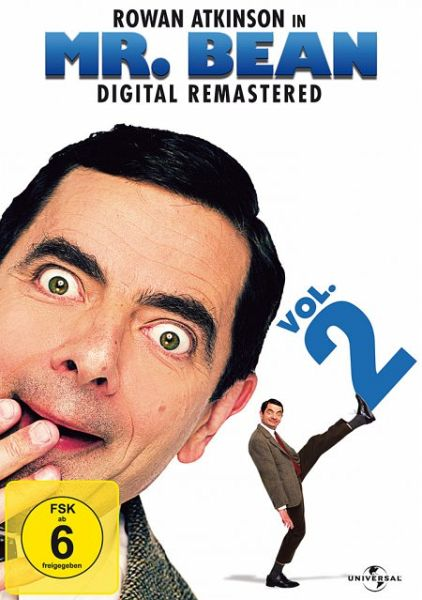 Mr. Bean - TV-Serie, Vol. 2: 20th Anniversary (OmU, Digital Remastered) - Atkinson,Rowan