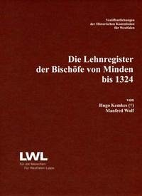Die Lehnregister der Bischöfe von Minden bis 1324