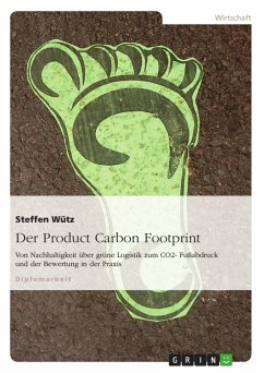 Der Product Carbon Footprint - Wütz, Steffen