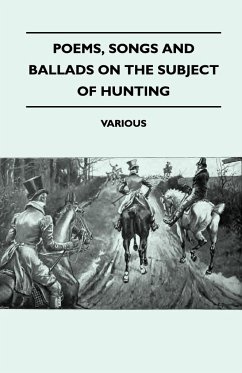 Poems, Songs and Ballads on the Subject of Hunting