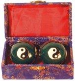 Qi Gong Kugel Yin-Yang blau 3,5 cm