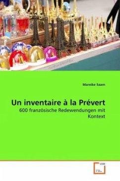 Un inventaire à la Prévert - Saam, Mareike