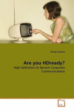 Are you HDready? - Görlich, Florian