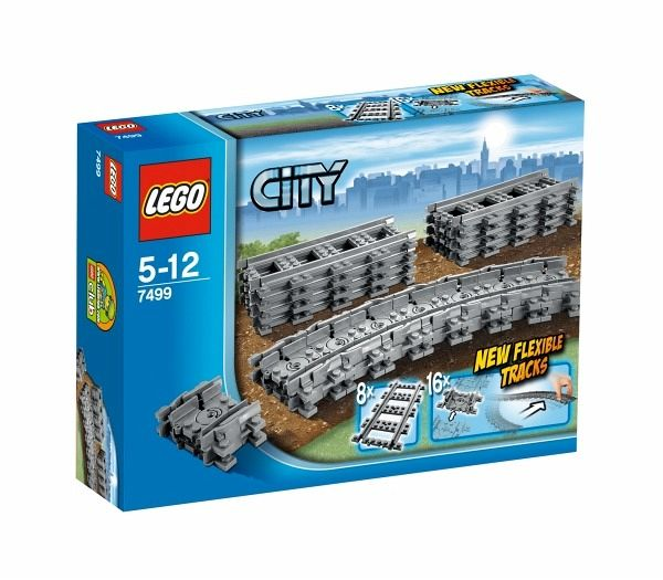 LEGO City 7499 - Flexible Schienen