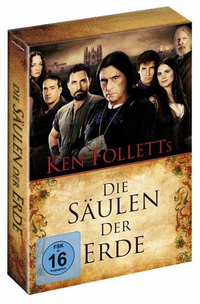 Die Säulen der Erde, 4 DVDs