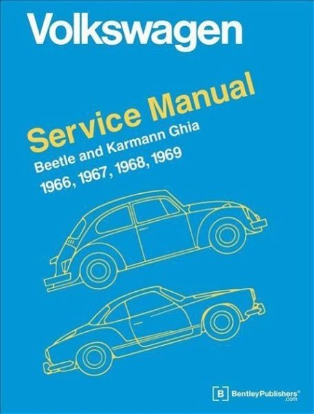 Volkswagen Beetle And Karmann Ghia Official Service Manual
