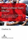 Making Software Teams Effective