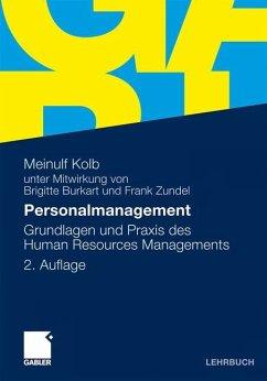 Personalmanagement - Kolb, Meinulf