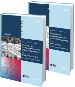 Grundlagen der Straßenverkehrstechnik und der Verkehrsplanung. 2 Bände im Kombi-Paket - Lohse, Dieter; Schnabel, Werner