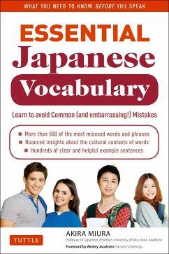 Essential Japanese Vocabulary - Miura, Akira