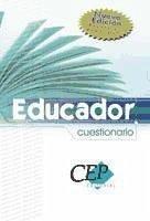 Oposiciones generales Educador. Cuestionario - Academia Tamargo