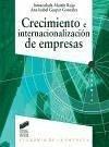 Crecimiento e internacionalización de empresas - Gaspar González, Ana Isabel Martín Rojo, Inmaculada