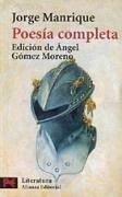 Poesía completa - Manrique, Jorge