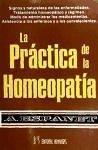 La práctica de la homeopatía : signos y naturaleza de las enfermedades