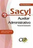 Oposiciones Auxiliar Administrativo, personal estatutario, Servicio de Salud de Castilla y León (SACYL). Test psicotécnicos