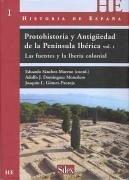 Protohistoria y Antiguedad de la Peninsula Iberica.