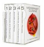 """Modernist Cuisine, 5 Bände + spiralgebundenes wasserfestes """"kitchen manual"""""""