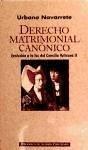Derecho matrimonial canónico : evolución a la luz del Concilio Vaticano II - Navarrete Cortés, Urbano