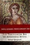 Las tablillas de boj de apronenia avitia - Quignard, Pascal