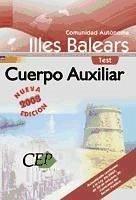 Oposiciones Cuerpo Auxiliar, Comunidad Autónoma Illes Balears. Test