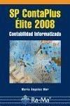 SP ContaPlus Élite 2008 : contabilidad informatizada - Mur Nuño, María Ángeles