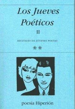 Los jueves poéticos II : recitales de jóvenes poetas - Adón, Pilar