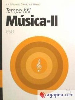 Tempo XXI, música, 2 ESO - Cañizares Sevilla, Ana Belén Colomé, Josep Maestro Reche, Miguel Ángel