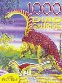 1000 dinosaurios con pegatinas (verde)