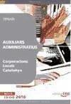 Auxiliars Administratius, Corporacions Locals Catalunya. Temari
